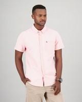 Men's Nolan Slim Fit Shirt -  coral