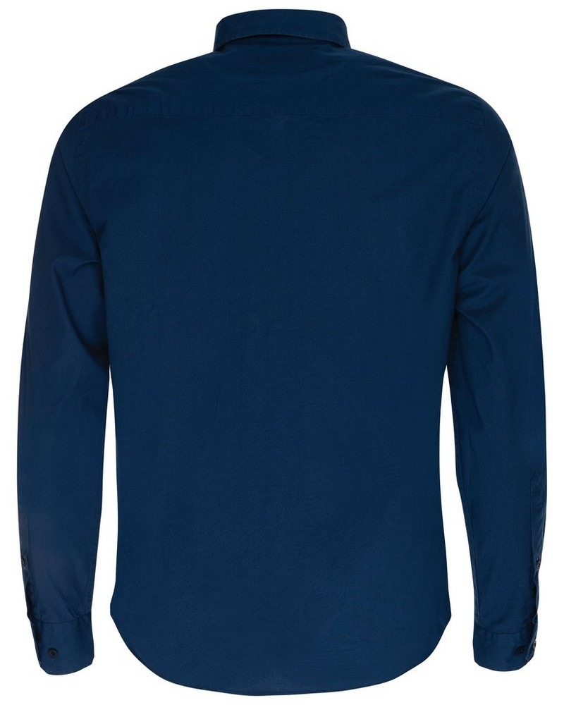 Andy Slim Fit Shirt  -  navy