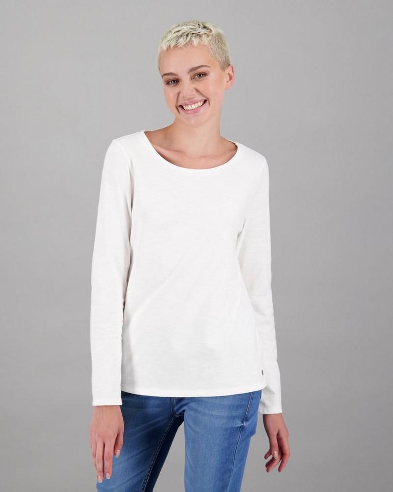 Old Khaki Women's Emma Long Sleeve T-Shirt -  white