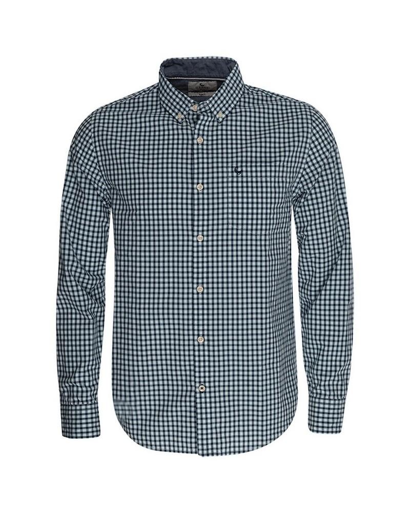 Peter Slim Fit Shirt -  navy
