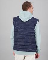 Men's Kayden Sleeveless Puffer Jacket -  navy