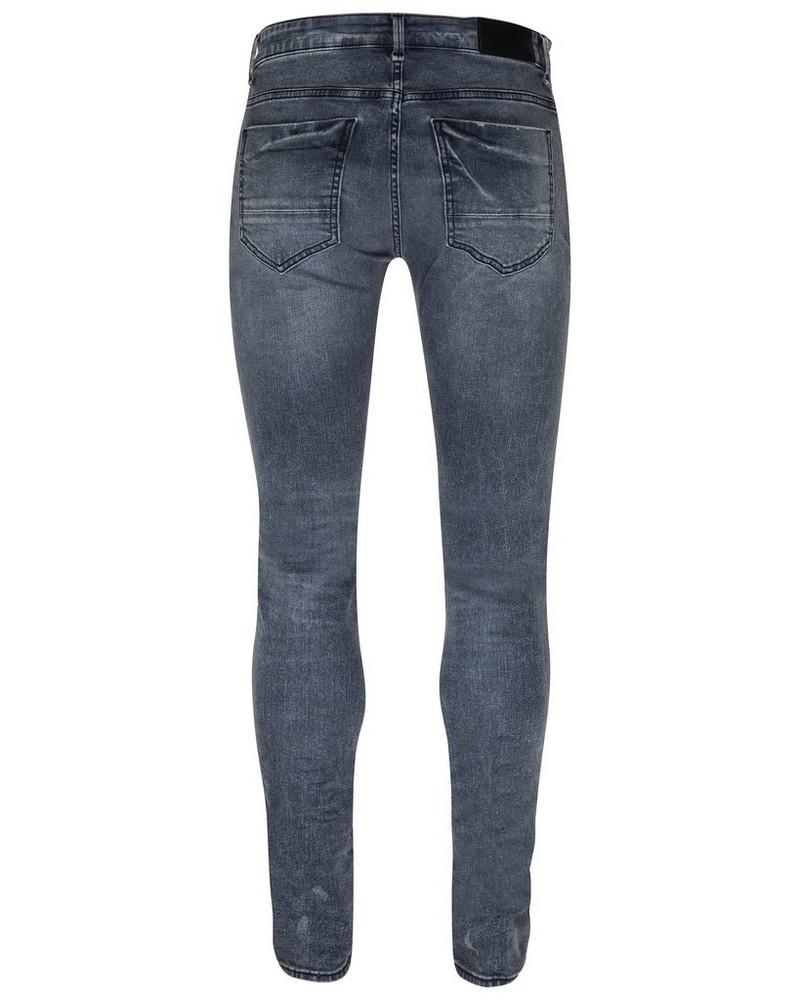 Joel 37 Skinny Leg Denim -  grey