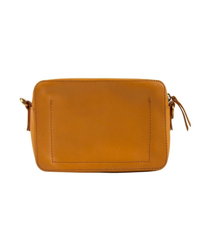Women's Jessie Leather Cross Body Bag -  ochre