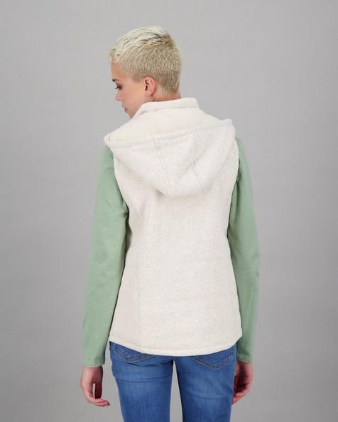 Women's Catrina Sleeveless Puffer Jacket -  cream