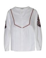 Women's Busi Woven Top -  white