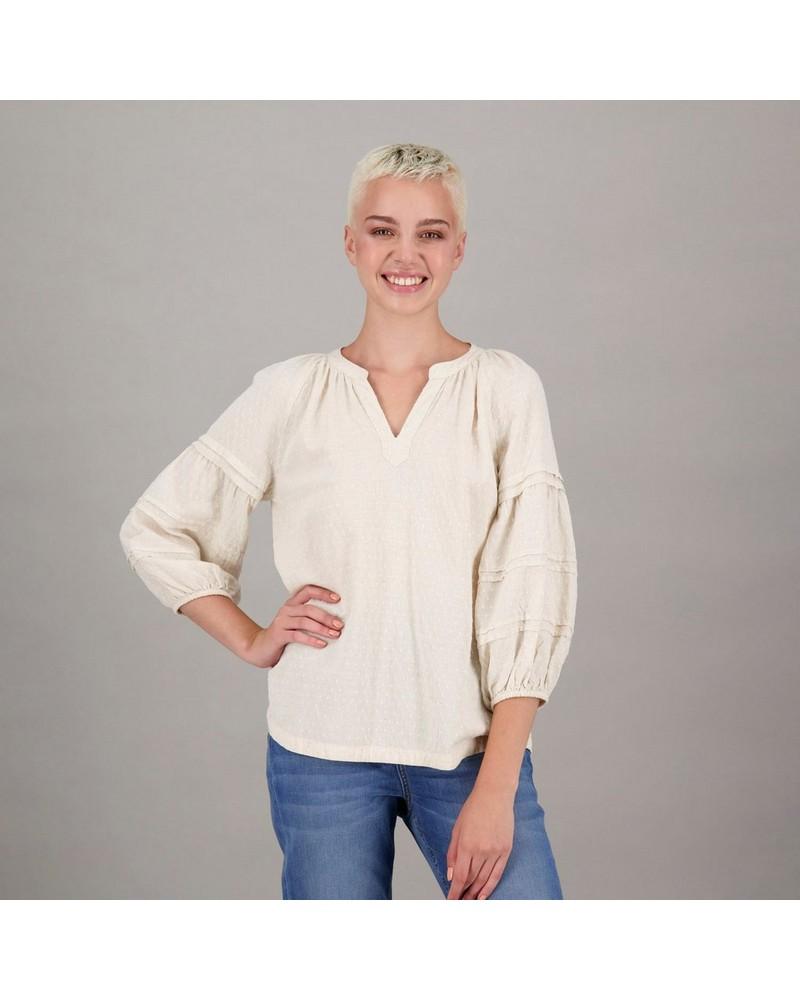 Women's Nandi Blouse -  cream