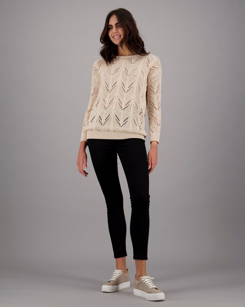 Women's Tove Pullover -  oatmeal