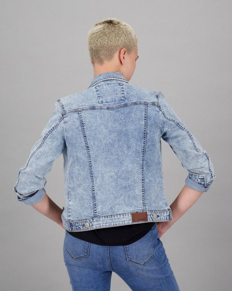Women's Amber Denim Jacket -  lightblue