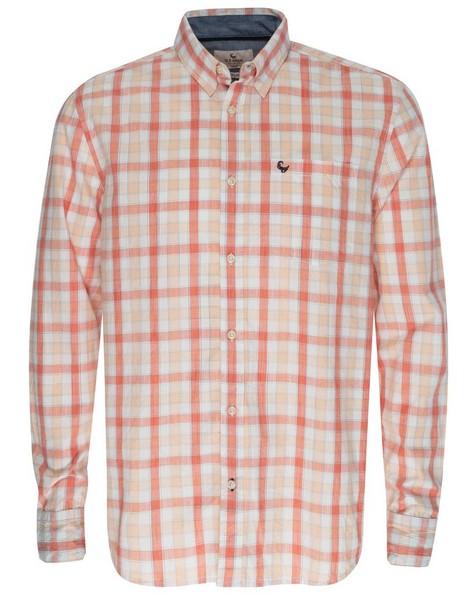 Dale Regular Fit Shirt -  coral