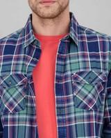 Men's Kyle Slim Fit Shirt -  navy