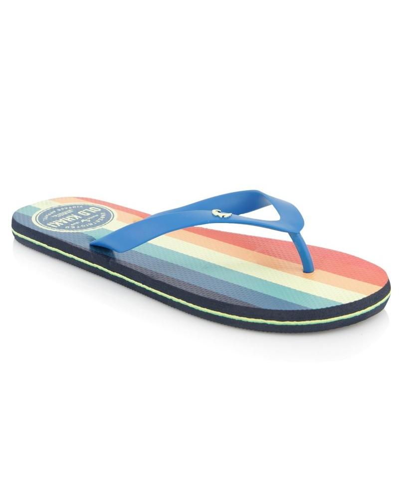 Men's Pacifico Flip Flop -  seablue-orange