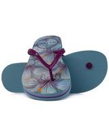 Old Khaki Women's Tide Flip Flops -  lightblue-plum