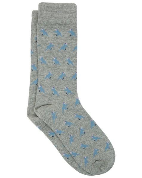 Jackson Sock -  grey-blue