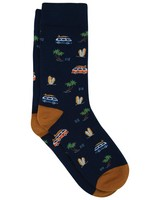 Reed Sock -  navy-assorted