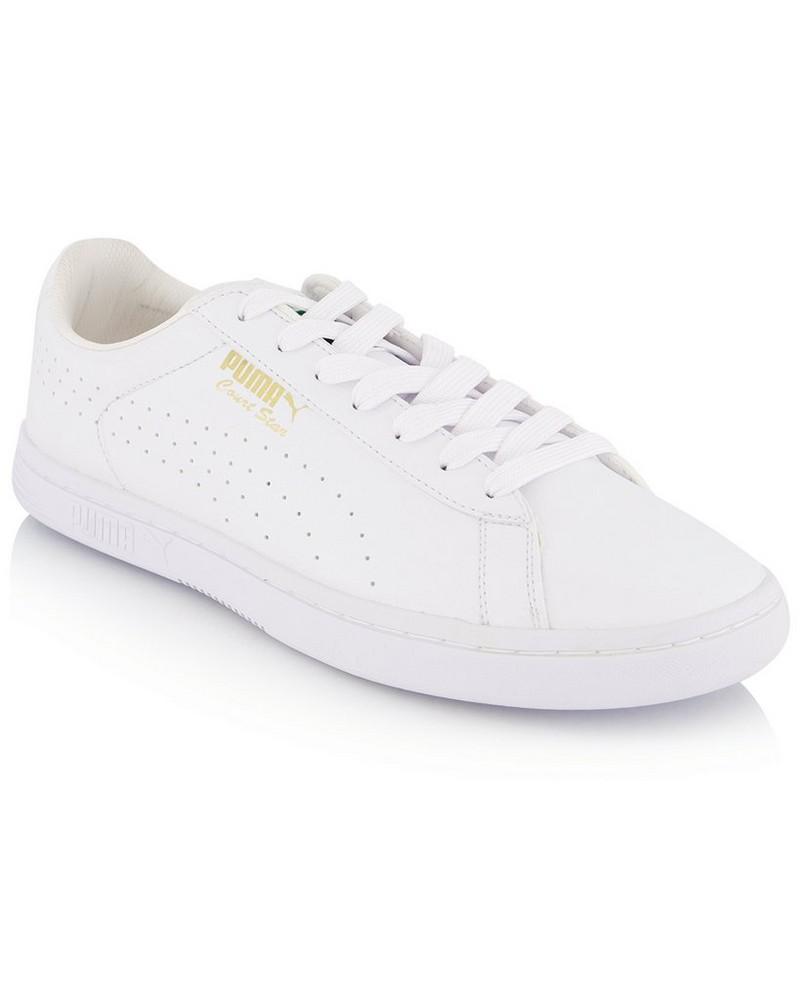 Men's Puma Court Star Sneaker -  white-white