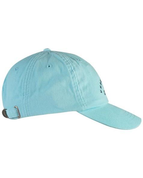 Roberto Branded Cap -  turquoise-navy