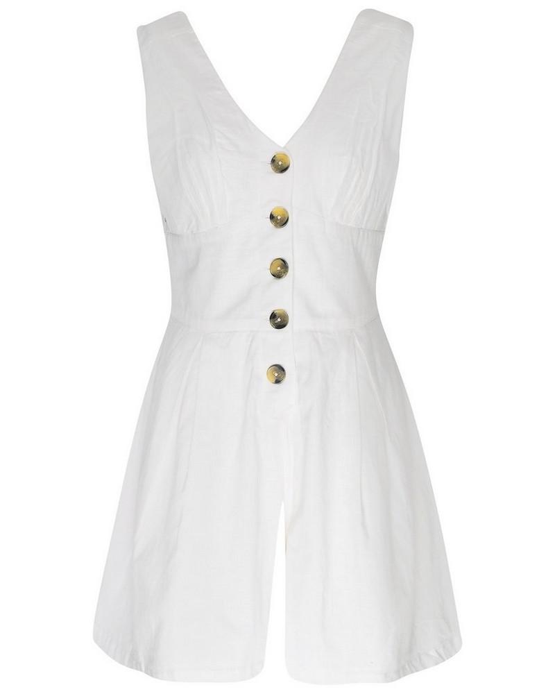 Sarai Playsuit -  white