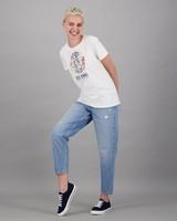 Women's Zia T-Shirt -  white-yellow