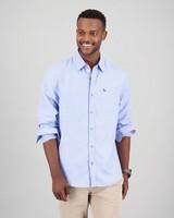 Men's Camden Slim Fit Shirt -  blue