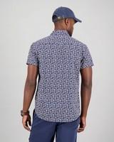 Men's Tabo Slim Fit Shirt -  navy