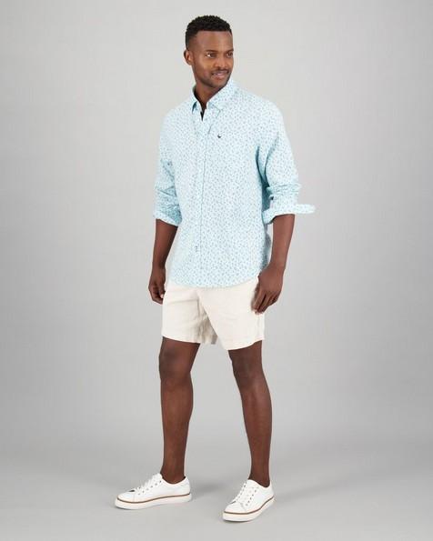Men's Ivan Slim Fit Shirt -  lightgreen
