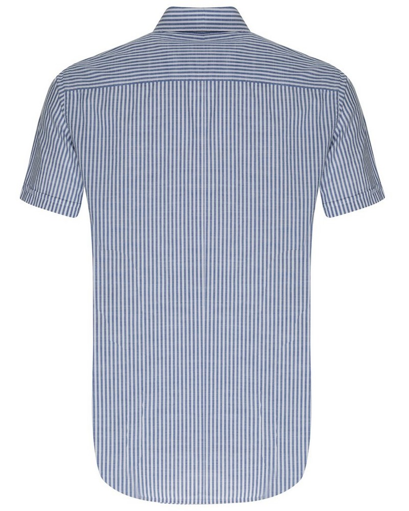 Luigi Regular Fit Shirt -  blue