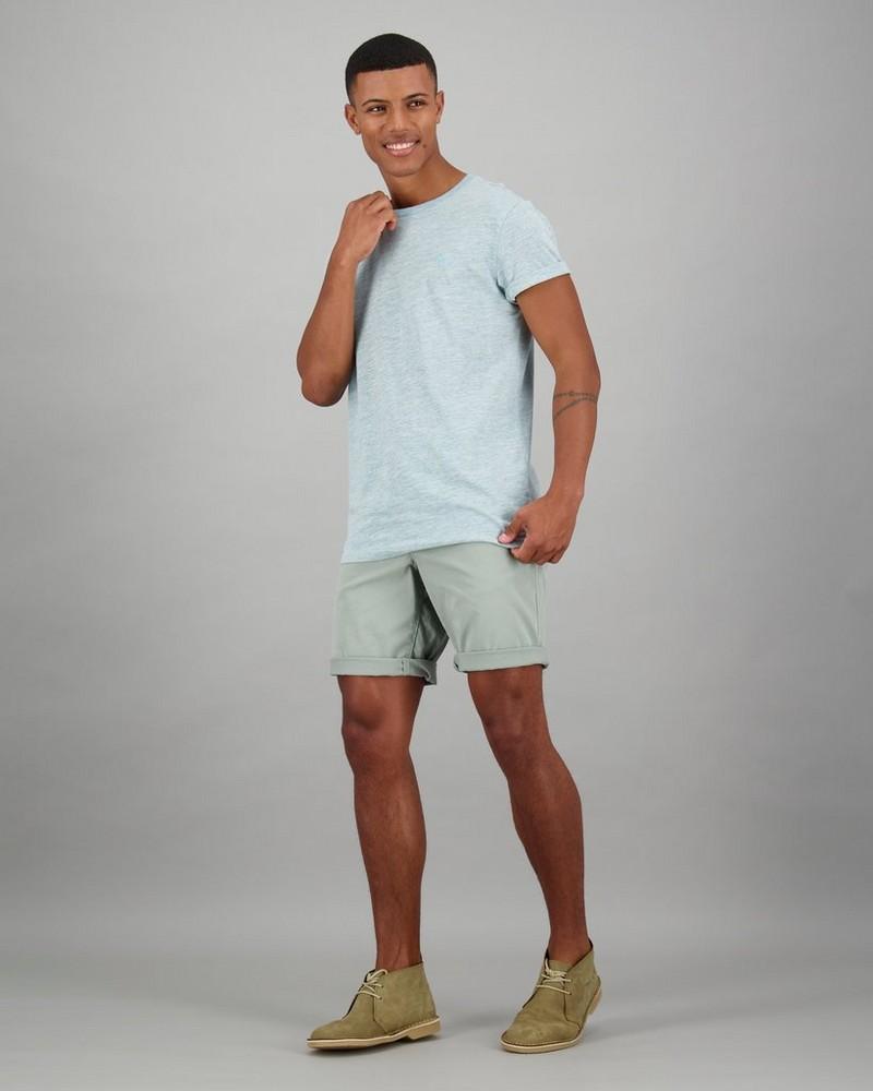 Men's Mark Standard Fit T-Shirt -  blue