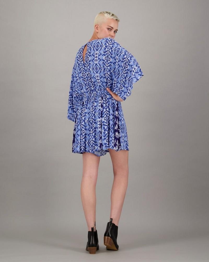 Women's Ashanti Playsuit -  blue