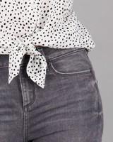 Women's Poppi Skinny Denim -  grey