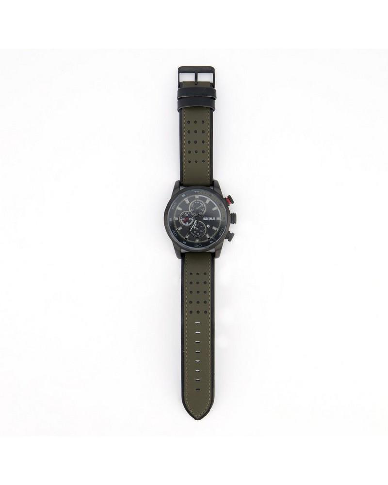 Men's Rocky Watch -  olive-grey