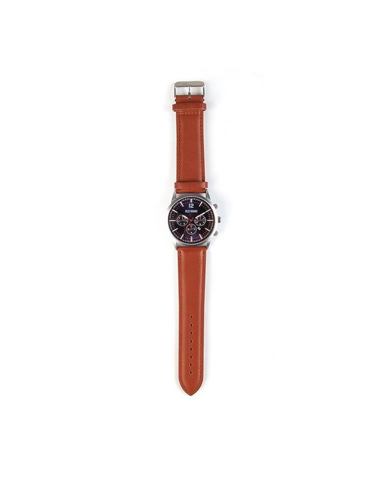 Men's Camryn Watch -  tan-silver