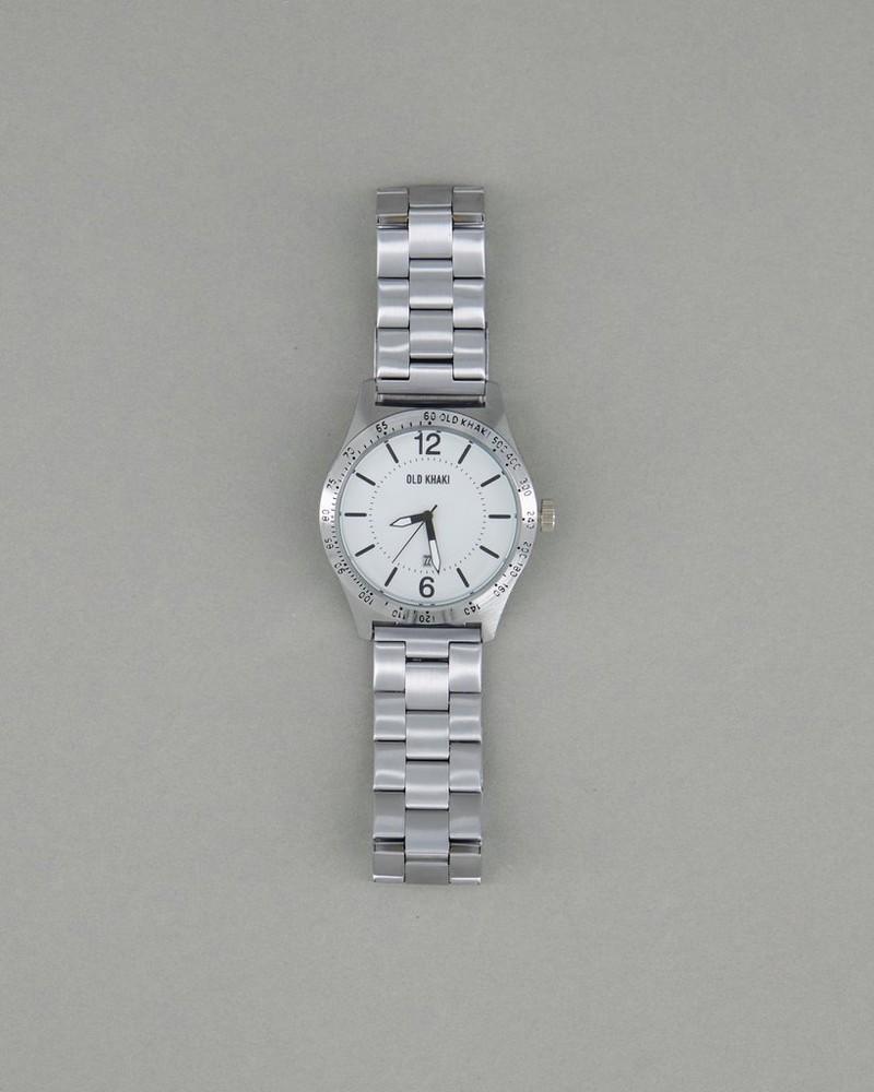 Men's Mateo Watch -  white-silver