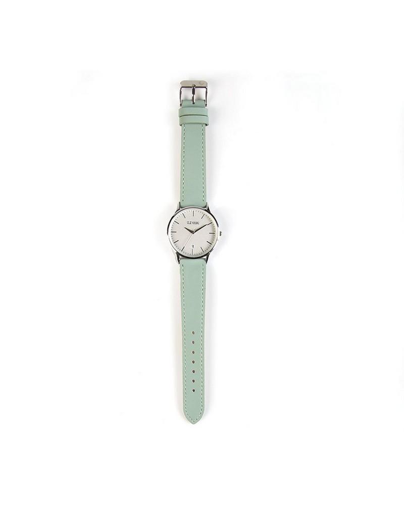 Women's Libby Watch -  sage-silver