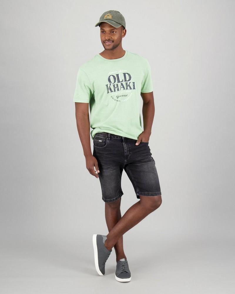 Men's Trohan Denim Shorts -  black