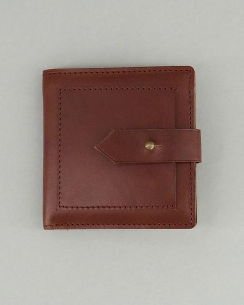 Men's Ira Leather Wallet -  tan