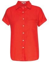 Andie Shirt -  coral