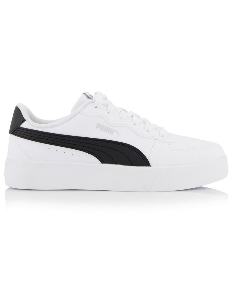 Women's Puma Skye Clean Sneaker -  white-black