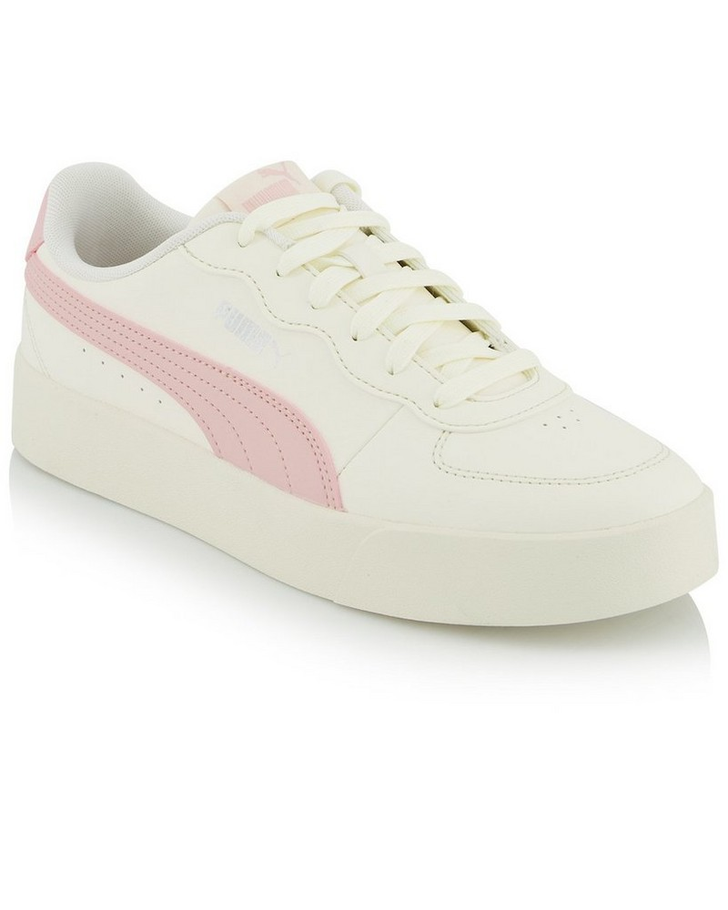 Women's Puma Skye Clean Sneaker -  cream-pink