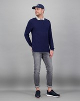 Men's Holmes Pullover -  navy