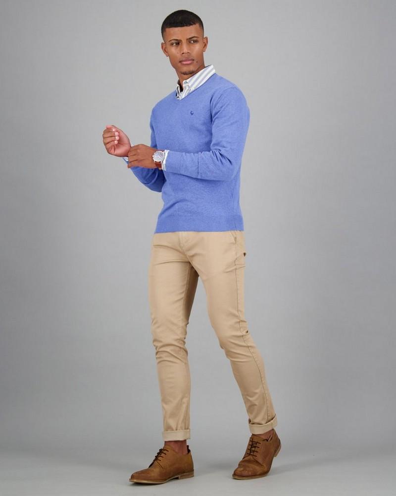 Men's Rustin Pullover -  blue