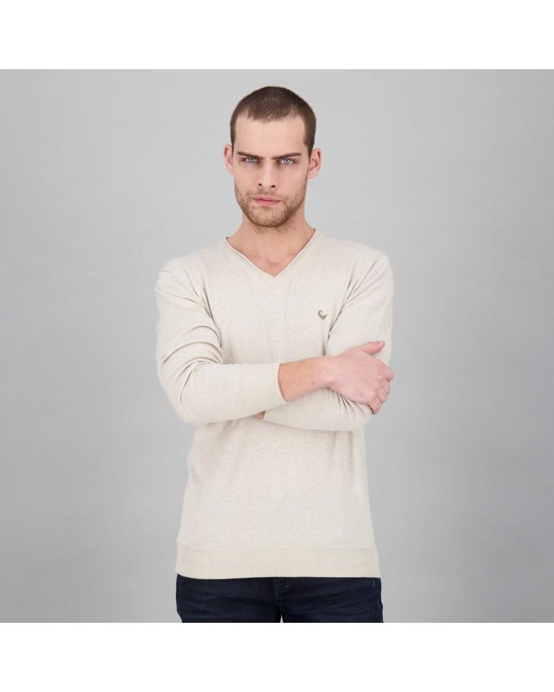 Men's Rustin Pullover -  oatmeal