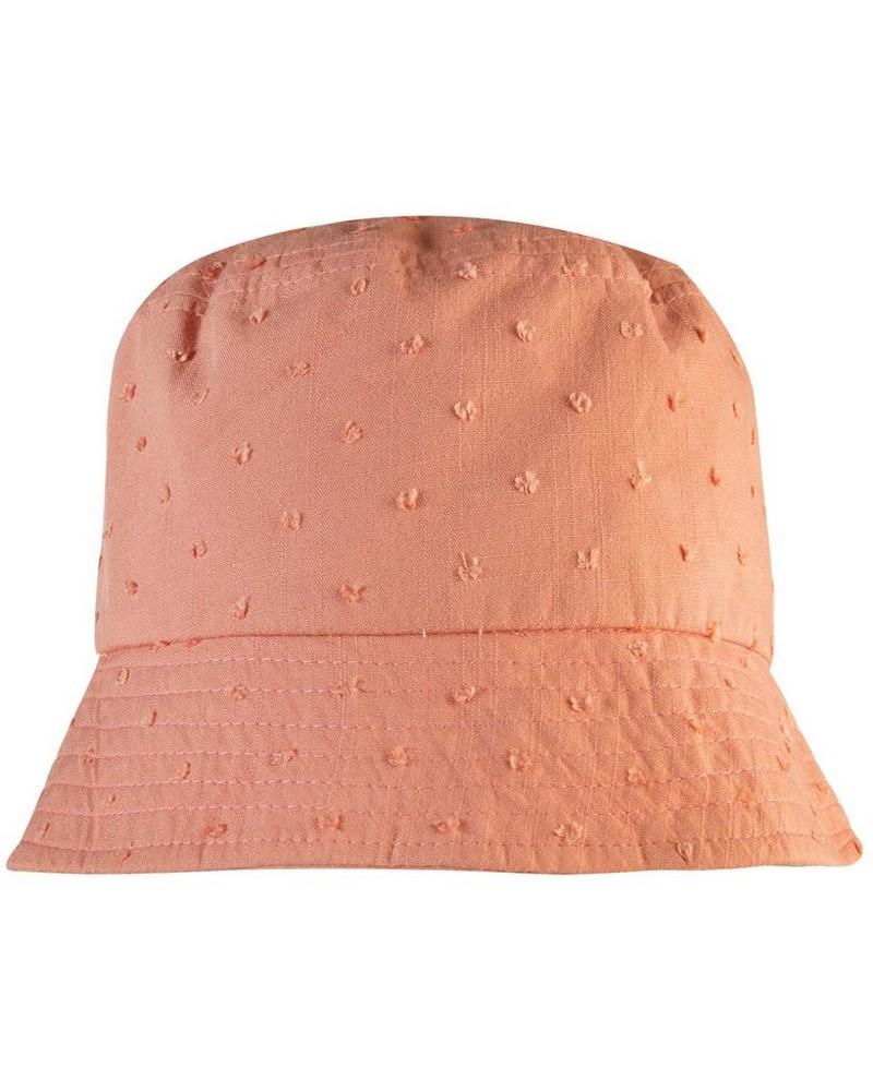 Women's Samira Textured Bucket Hat -  dustypink