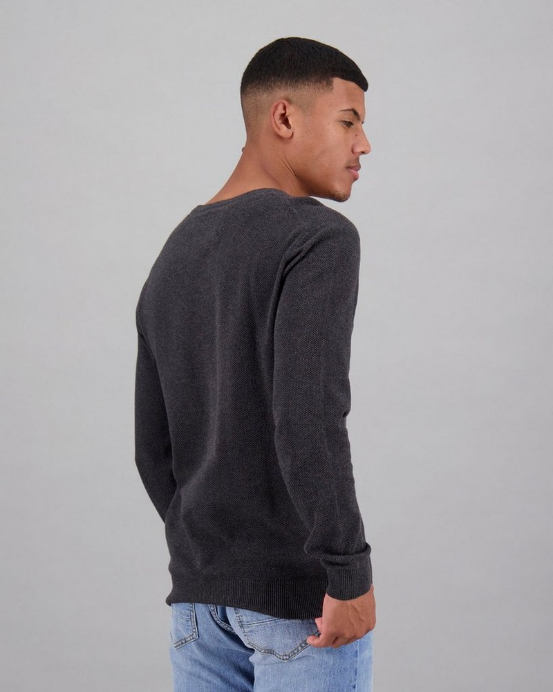 Men's Holmes Pullover -  charcoal