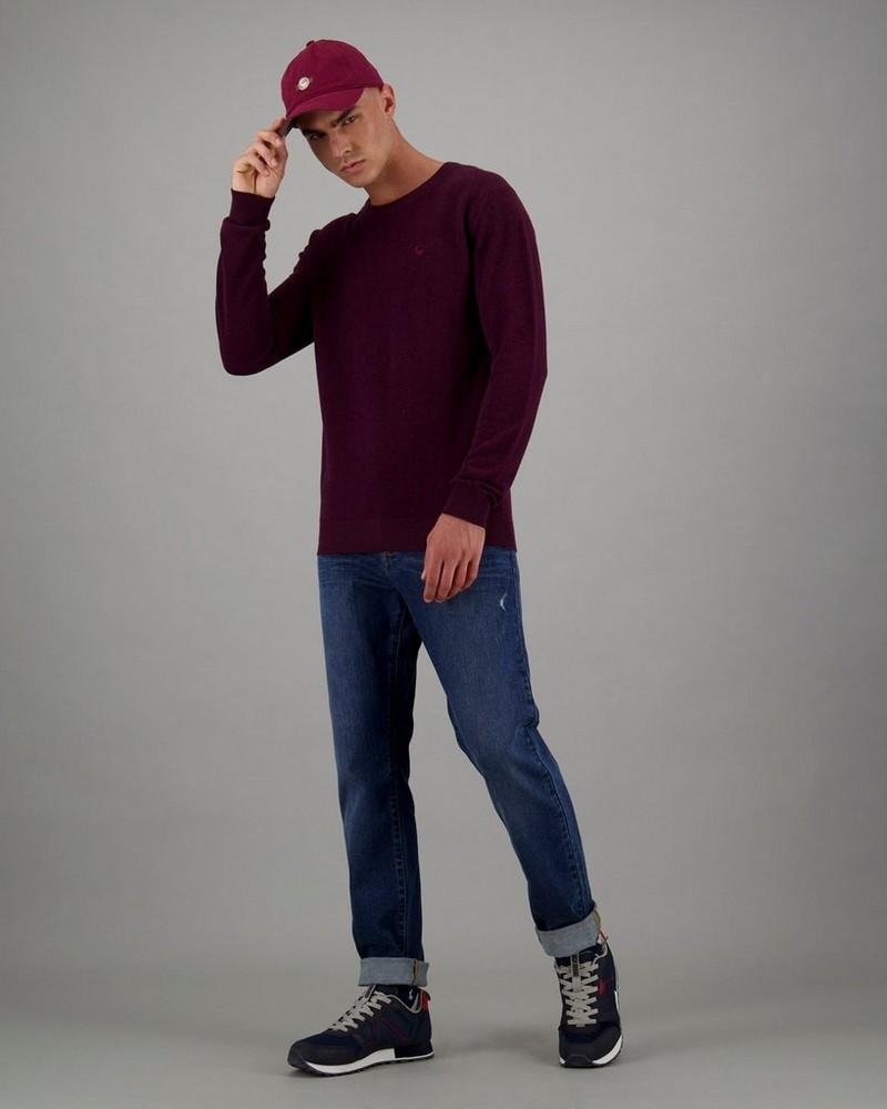 Men's Holmes Pullover -  burgundy