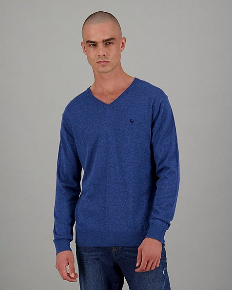 Men's Rustin Pullover -  midblue