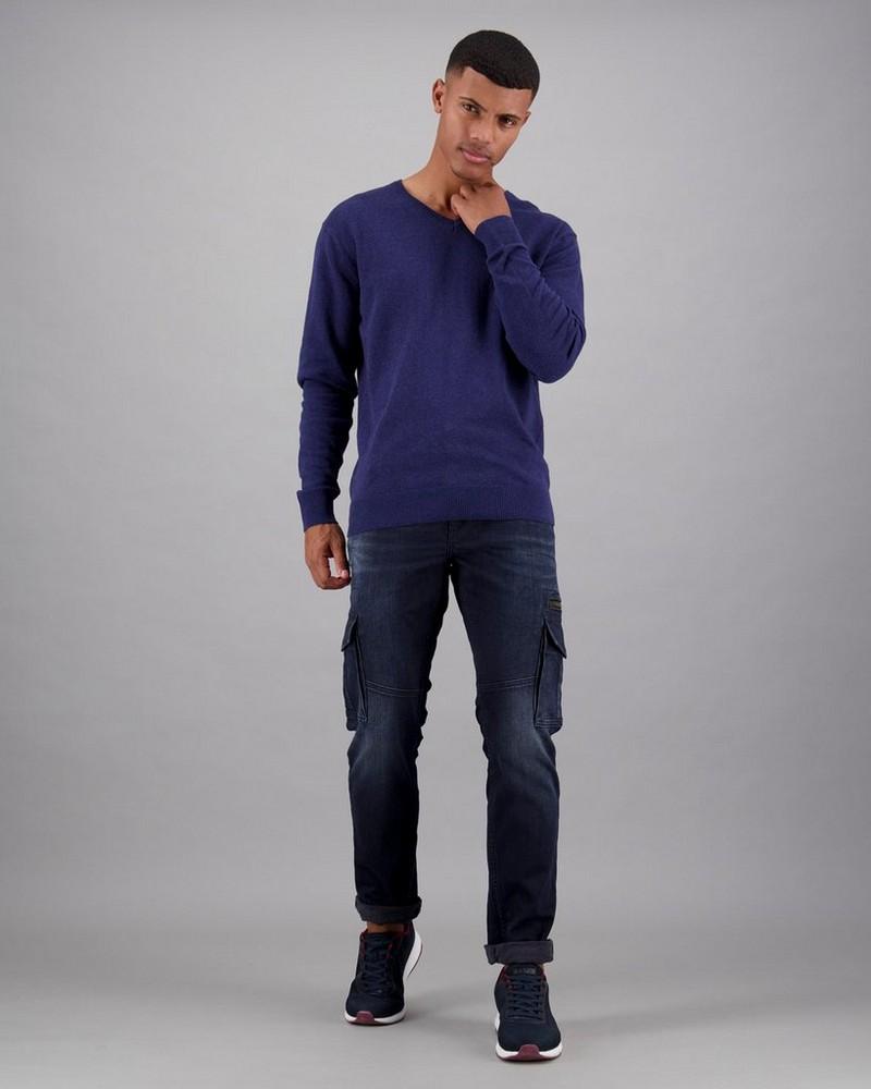 Men's Rustin Pullover -  navy