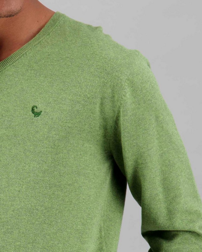 Men's Rustin Pullover -  lightolive