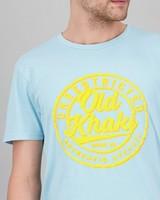 Men's Darren Standard Fit T-Shirt -  lightblue
