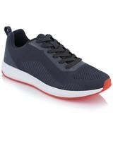 Men's Holt Sneaker -  charcoal-red
