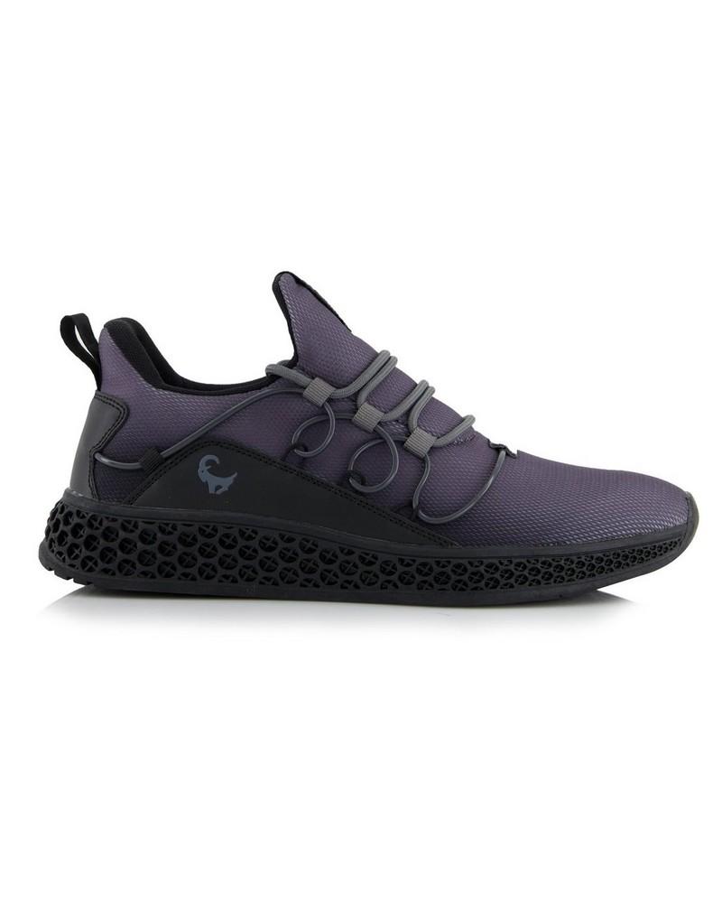 Men's Dash Sneaker -  black-grey